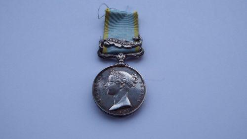 Crimean War Medal to J Ramsey 89th Regt