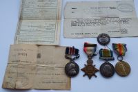 Great War Military Medal group to L12260 SJT Elsey 13 R FUS
