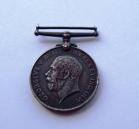British War Medal to 18047 Pte J Thornton York Regt
