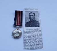 Casualty Military Medal to 7544 Spr D Slimmon 1/1 W Lanc Field Coy RE / A professional Footballer