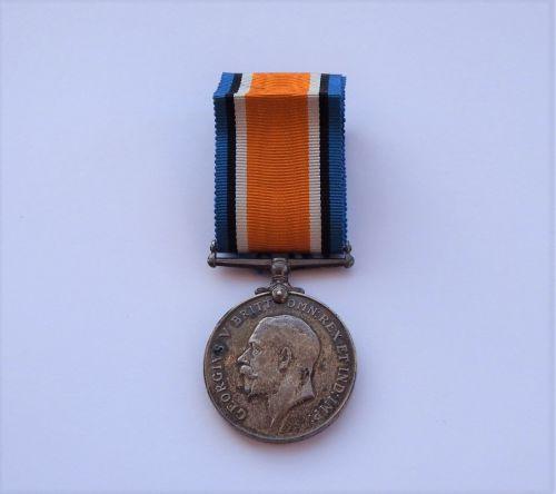 British War Medal to L Pickersgill AB MFA