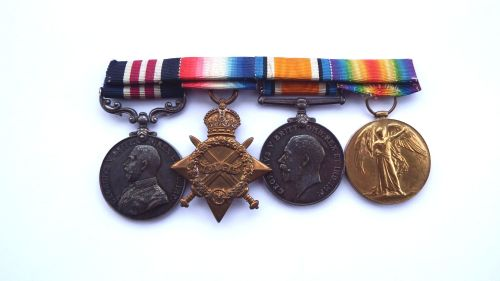 A Military Medal 1914/15 trio to Gnr Tankard West Riding BDE RFA TF / Possi
