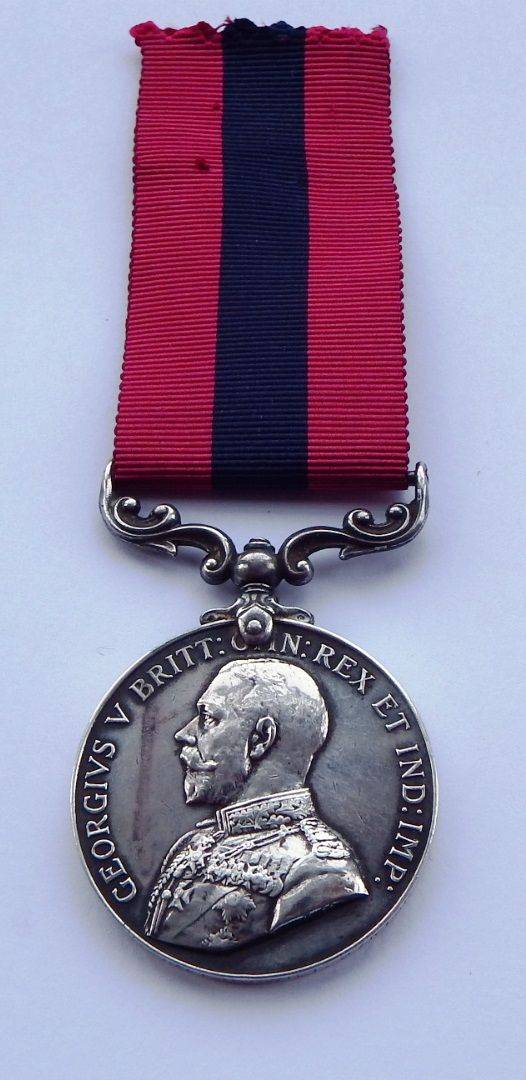 GV Distinguished Conduct Medal to 52065 L / Cpl E C Gwilt 2/5 Lan Fus / for