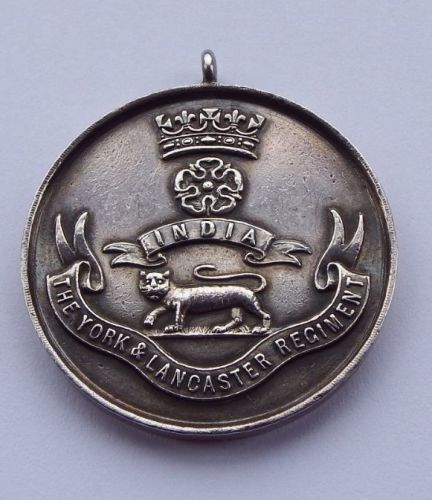 Silver Cross Country medal to  CSM J P Dobson 9 Yorks and Lancs / MBE DCM T