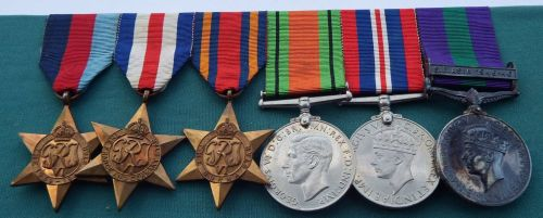 A Campaign group to 14992188 Pte R Kelly West Yorks / Late Royal Navy / pos