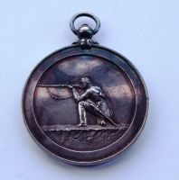 Solid Silver Shooting Medal to Sergt W Newman 10th Surrey Rifle Volunteers