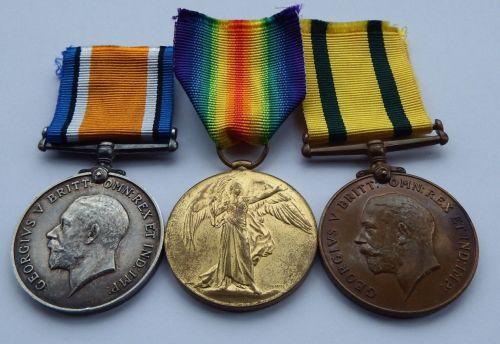 Territorial Group to Captain Kay Gordon Highlanders - Shetland Company Gord