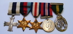 George VI Military Cross group to Judge Clifford Theodore Cohen The Black Watch