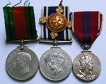 Defence Medal, Police LSGC and Coronation Medal 1953 to SERGT. Norman N Sewell
