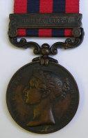 IGS Burma 1885/87 to Sweeper Muimnor 1st Bn Rif Brig