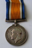 BWM to 204491 PTE W V Parker London Regt