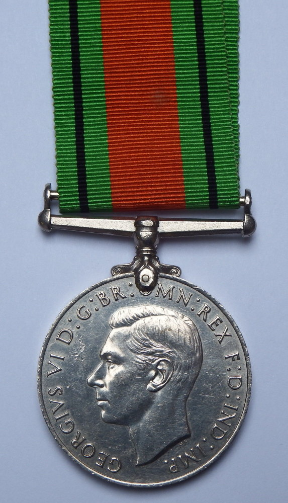 Defence Medal to T/117575 Rendell AT