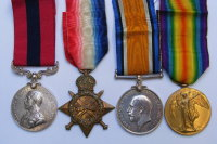 A wonderful Deeds to Thrill the Empire DCM group to  15529 Pte T Barton 5/G. Gds