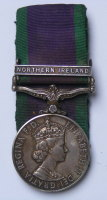 Northern Ireland Medal to 24291862 L/Cpl P A Oliver PWO