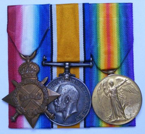 1914/15 trio to 18891 Pte T Crane Northd Fus / Prisoner of war