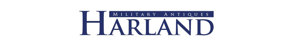 Harland Military Antiques, site logo.