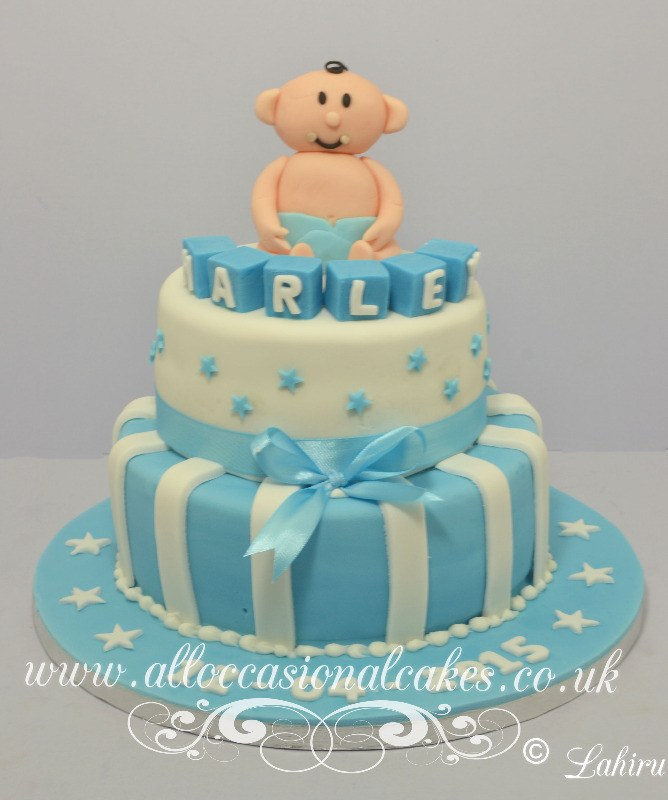 Designer birthday cakes for boys