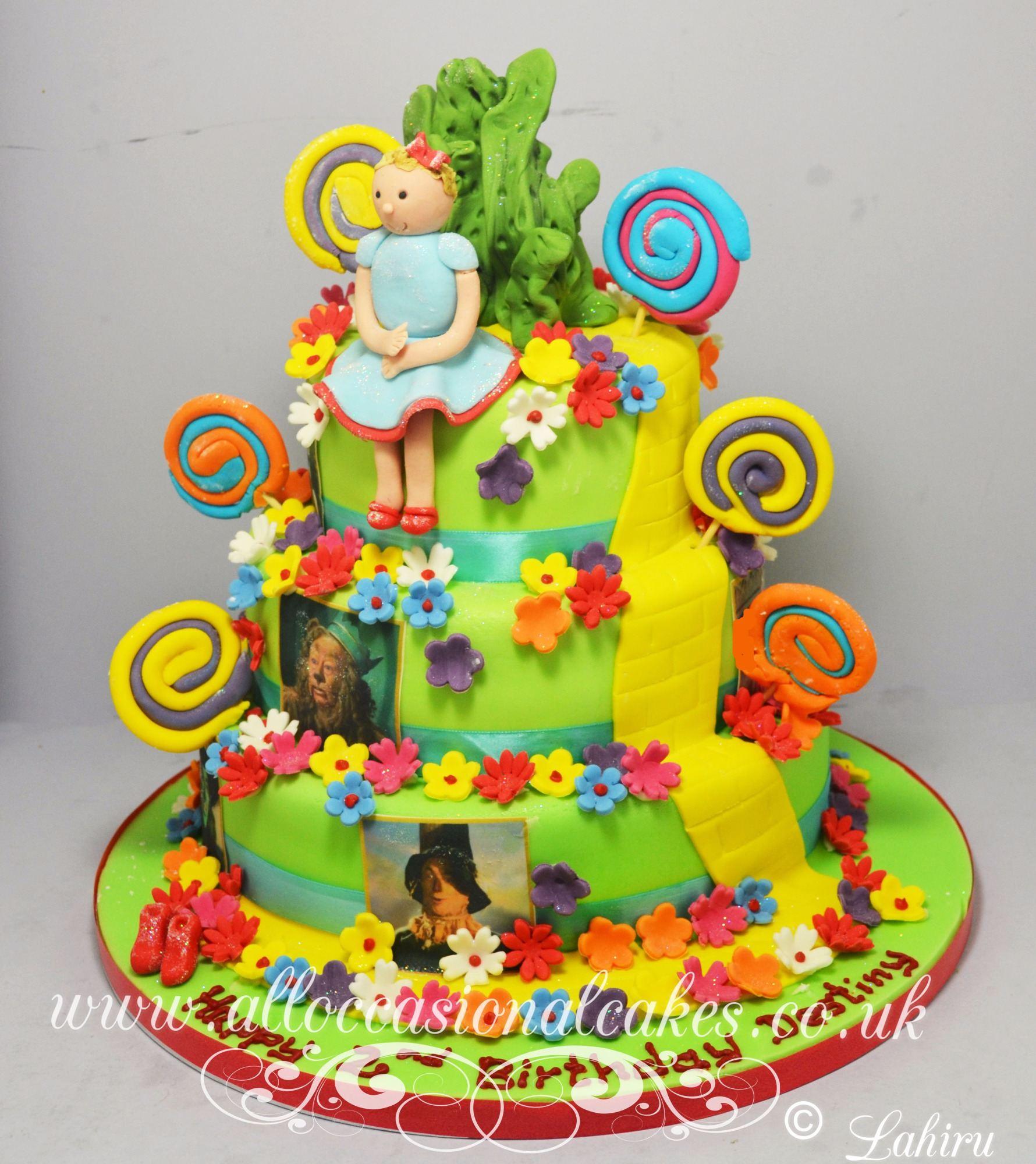 wizard of oz birthday cake