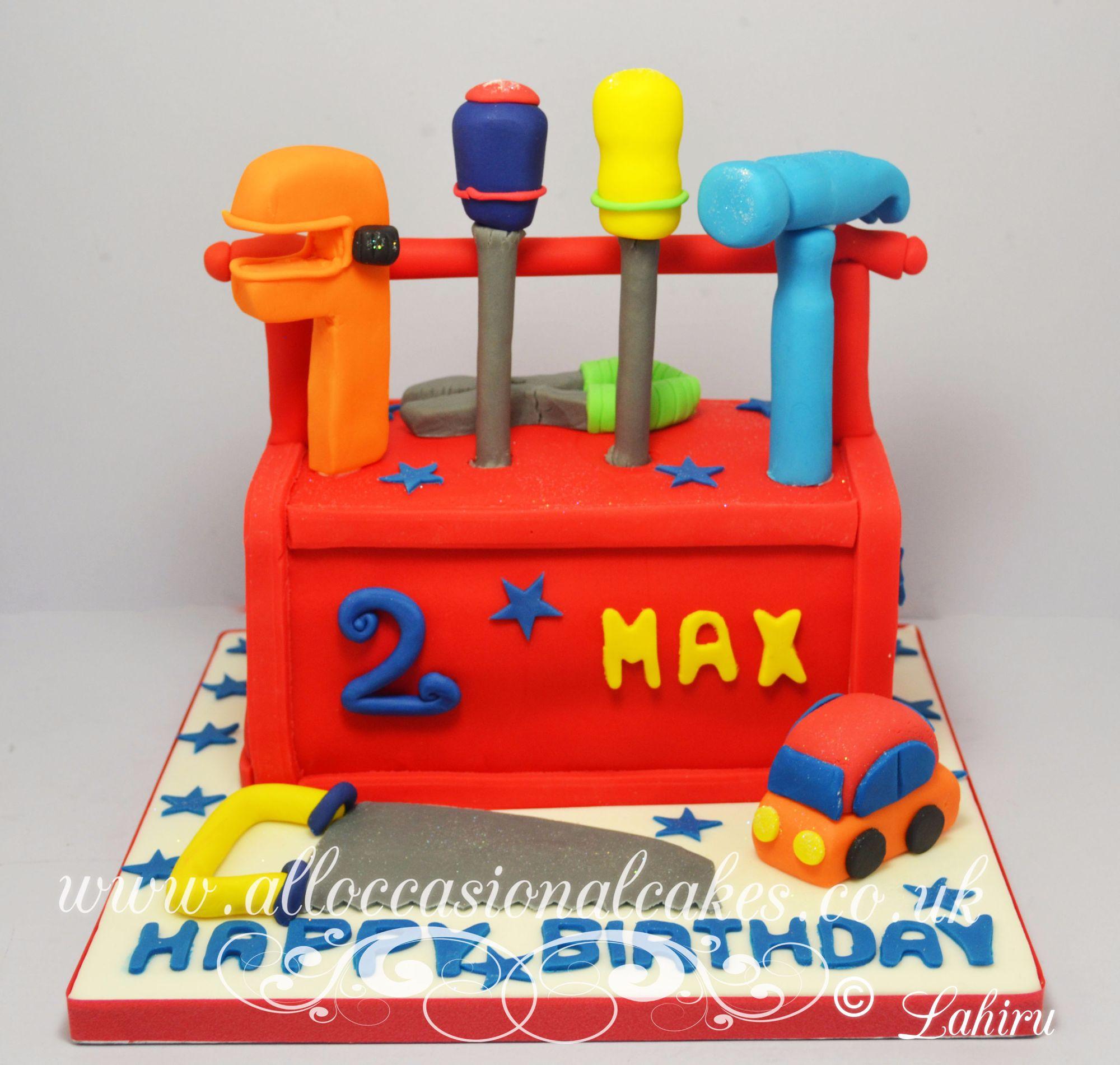 kids tool box cake