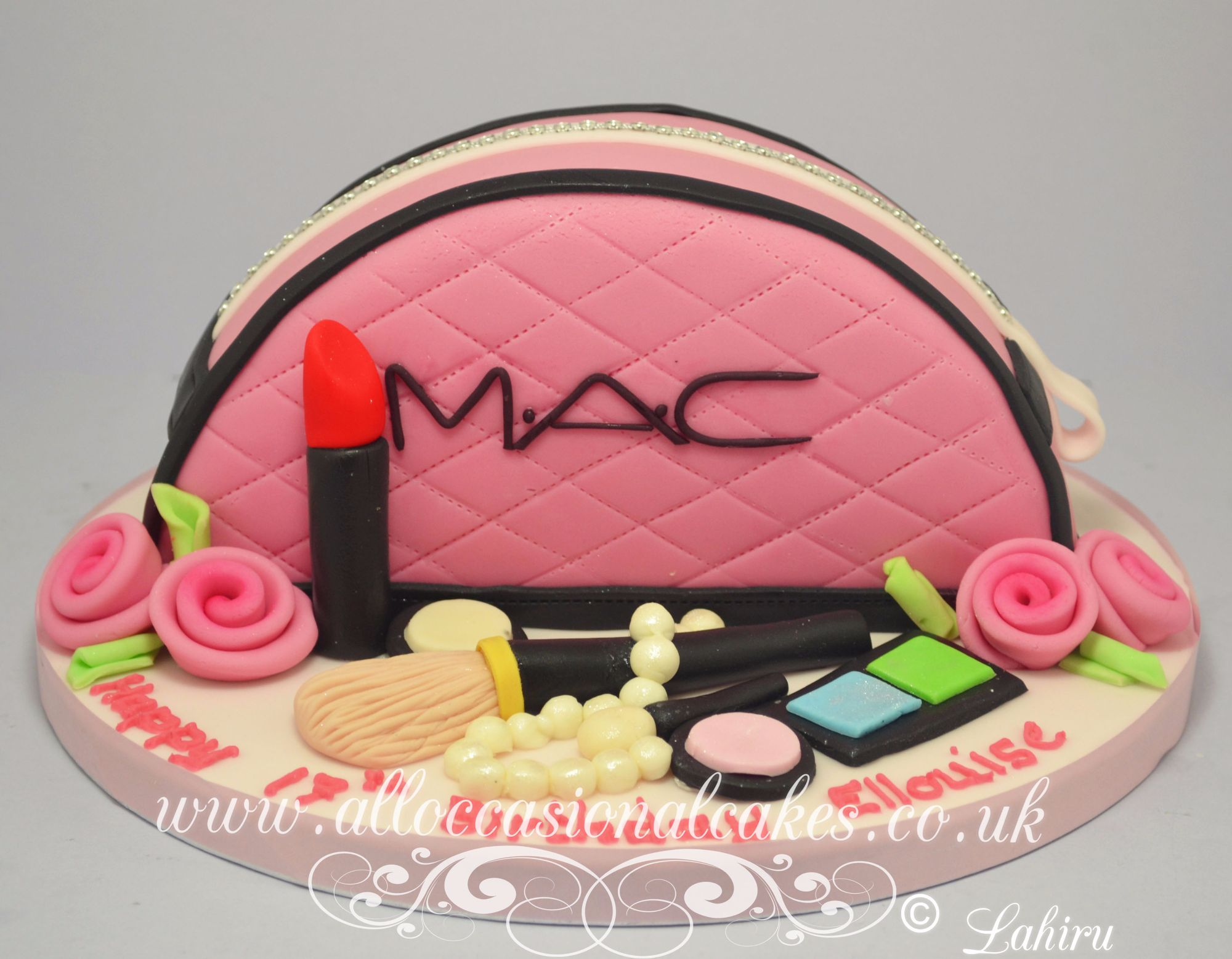 mac make up bag cakw