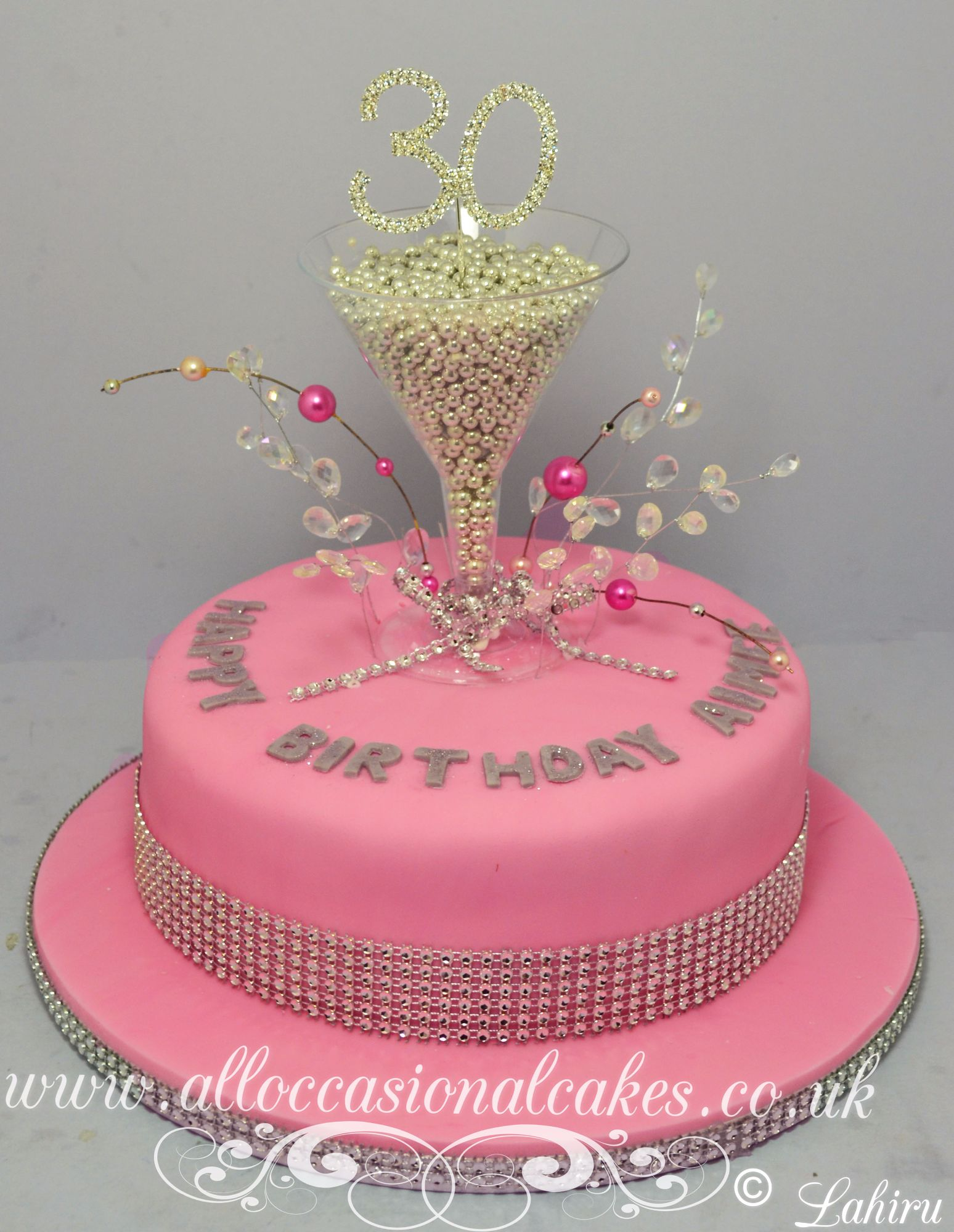 champagne glasses cake
