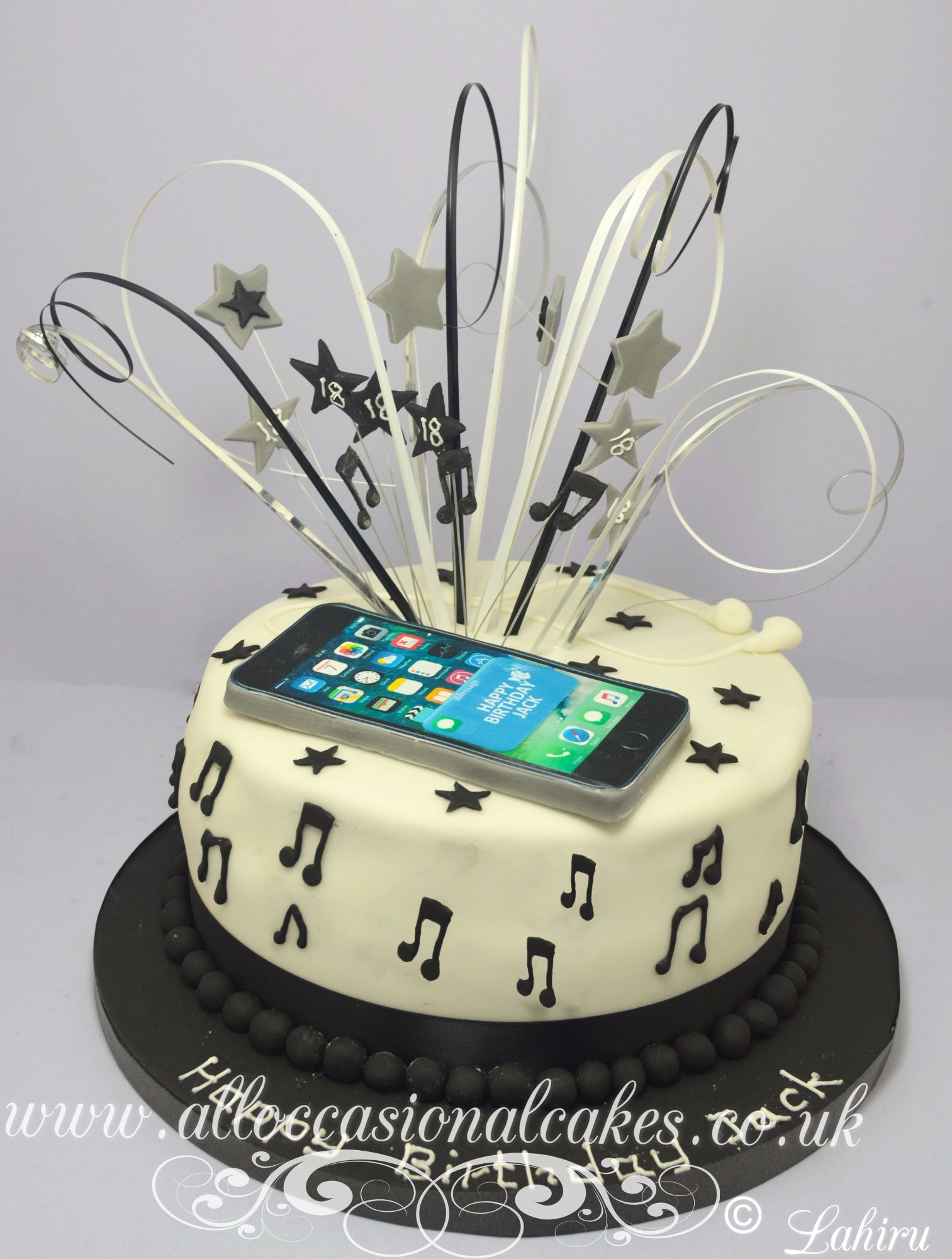 i phone birthday cake