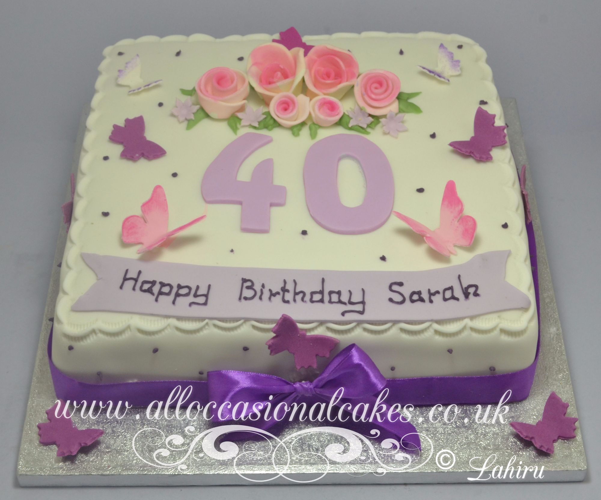 40 th birthday cake 10