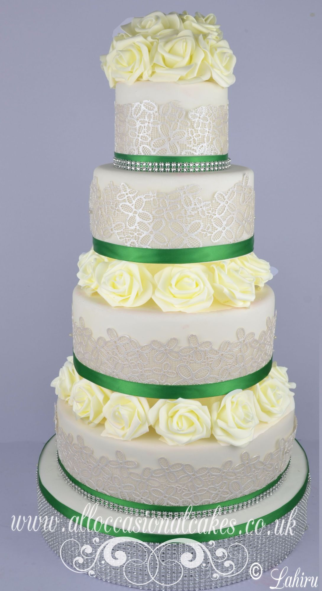 lace wedding cake bristol