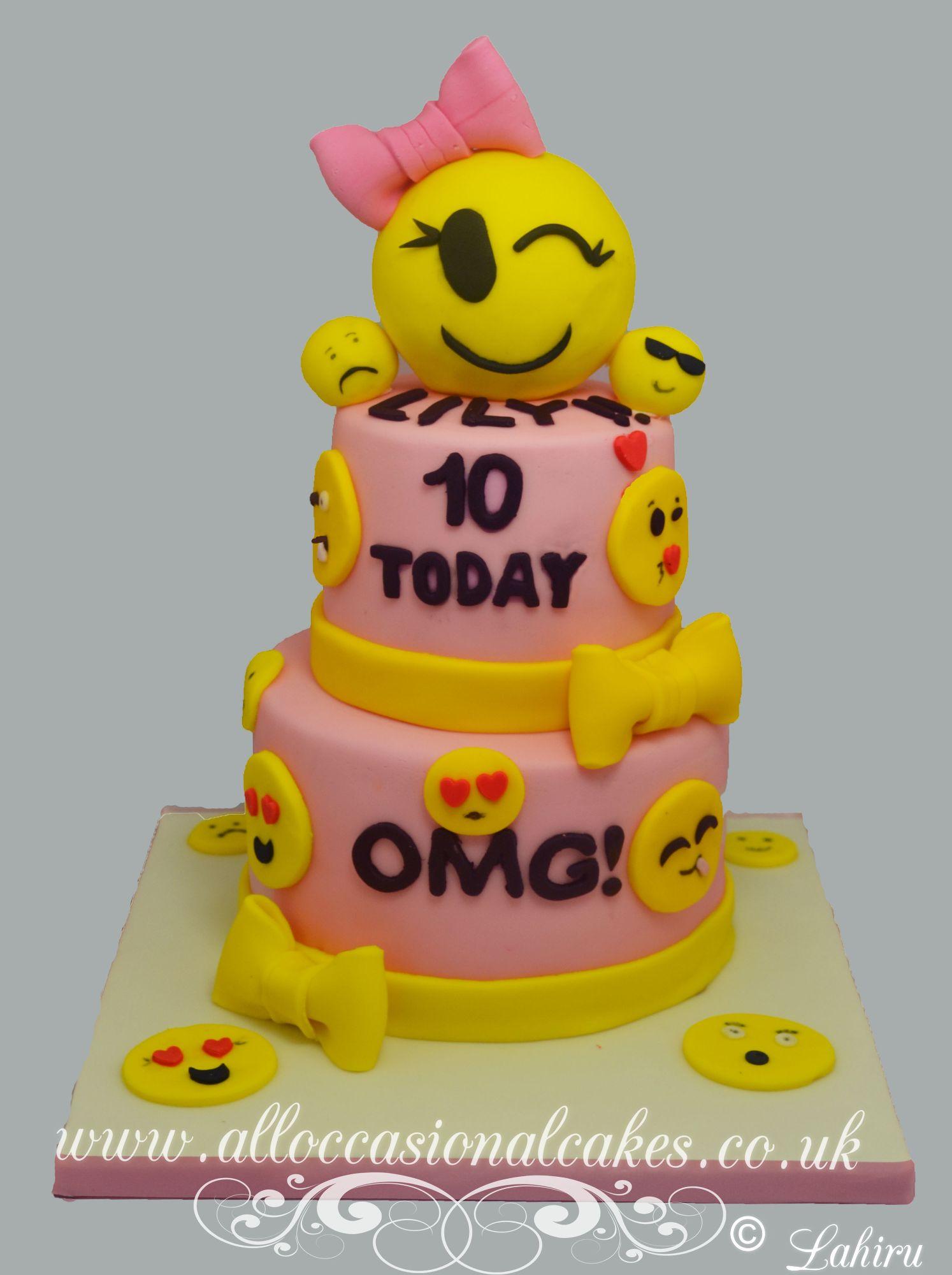 OMG birthday cake
