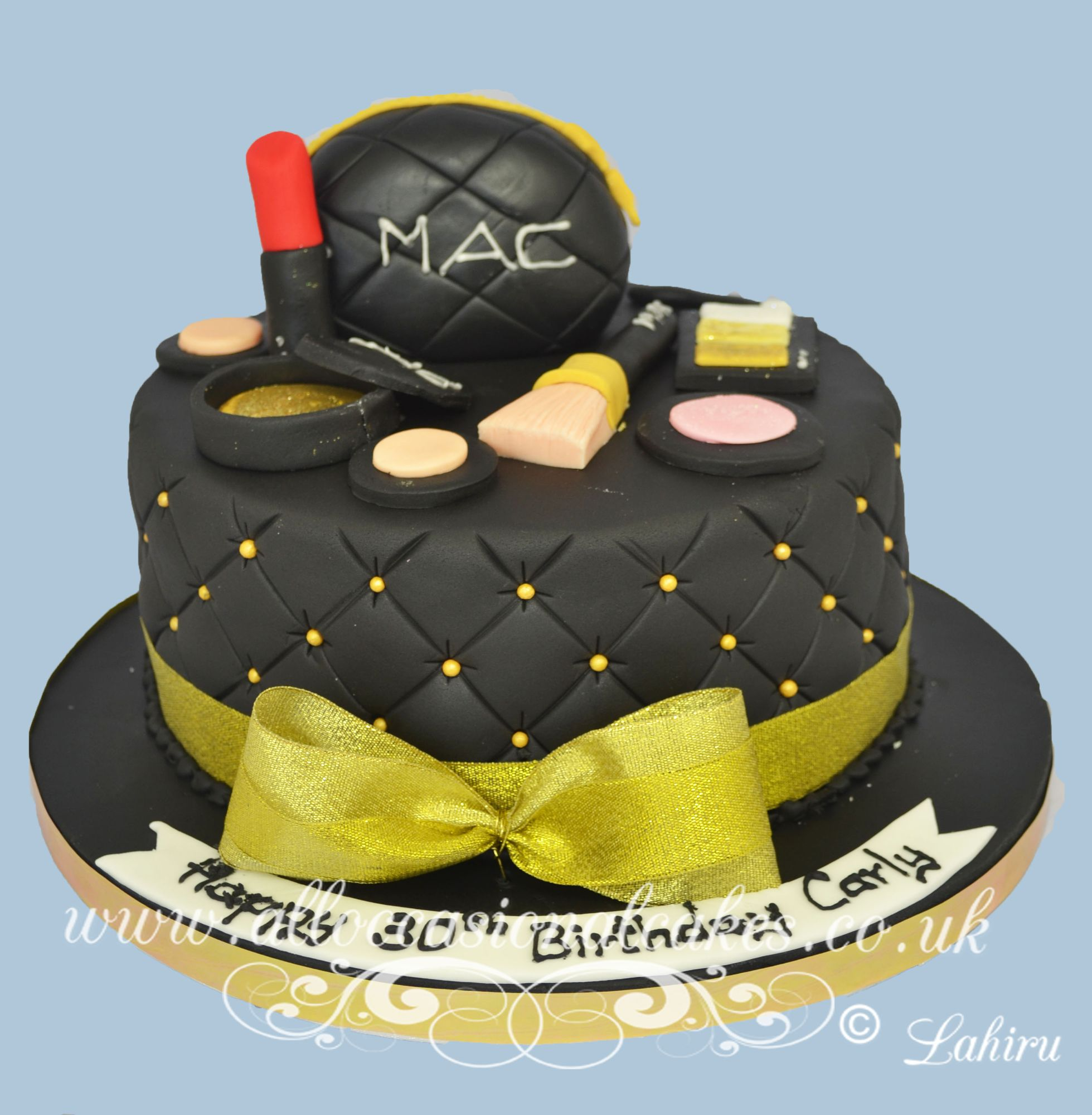 mac make up cake