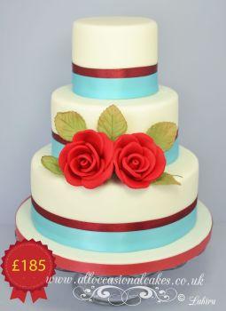 3 tier set price wedding cake 003