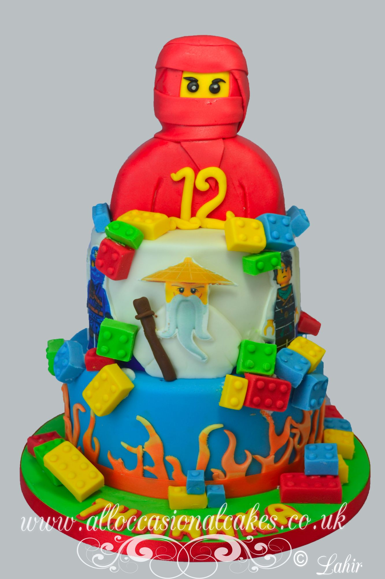 ninjago birthday cake