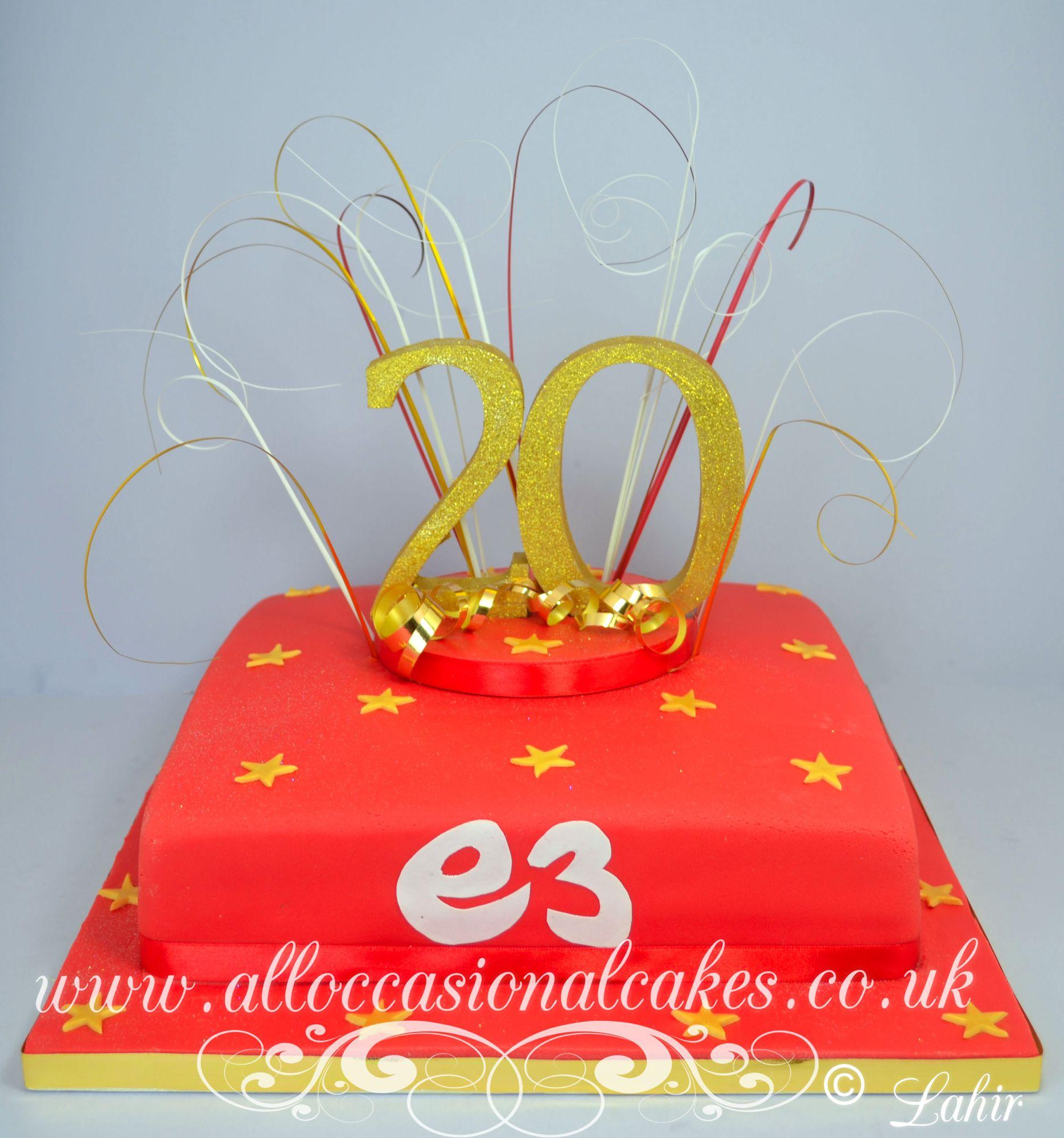 3 media company cake