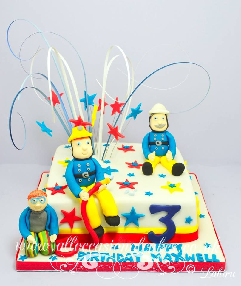 fireman sam birthday cake
