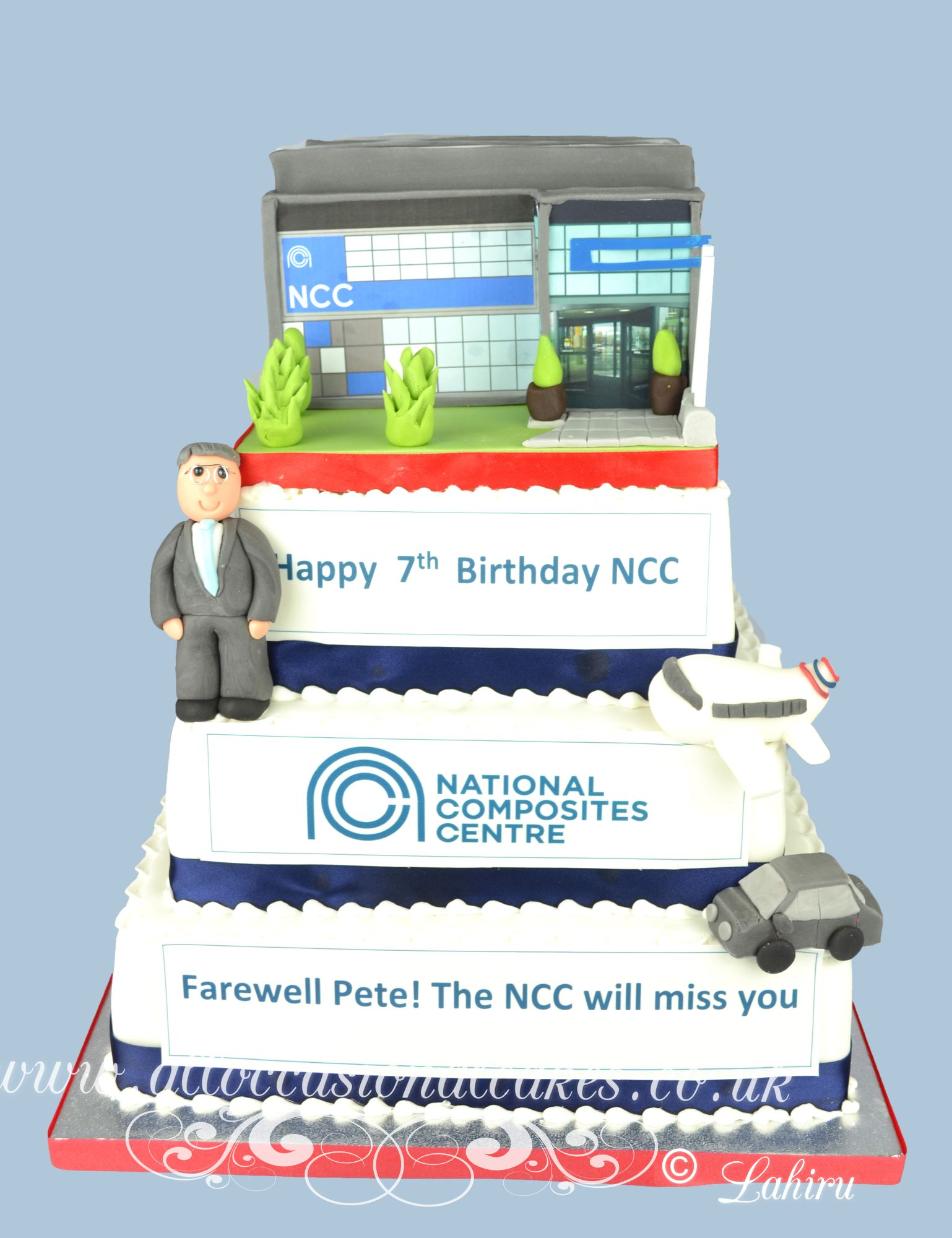 National composites centre birthday cake