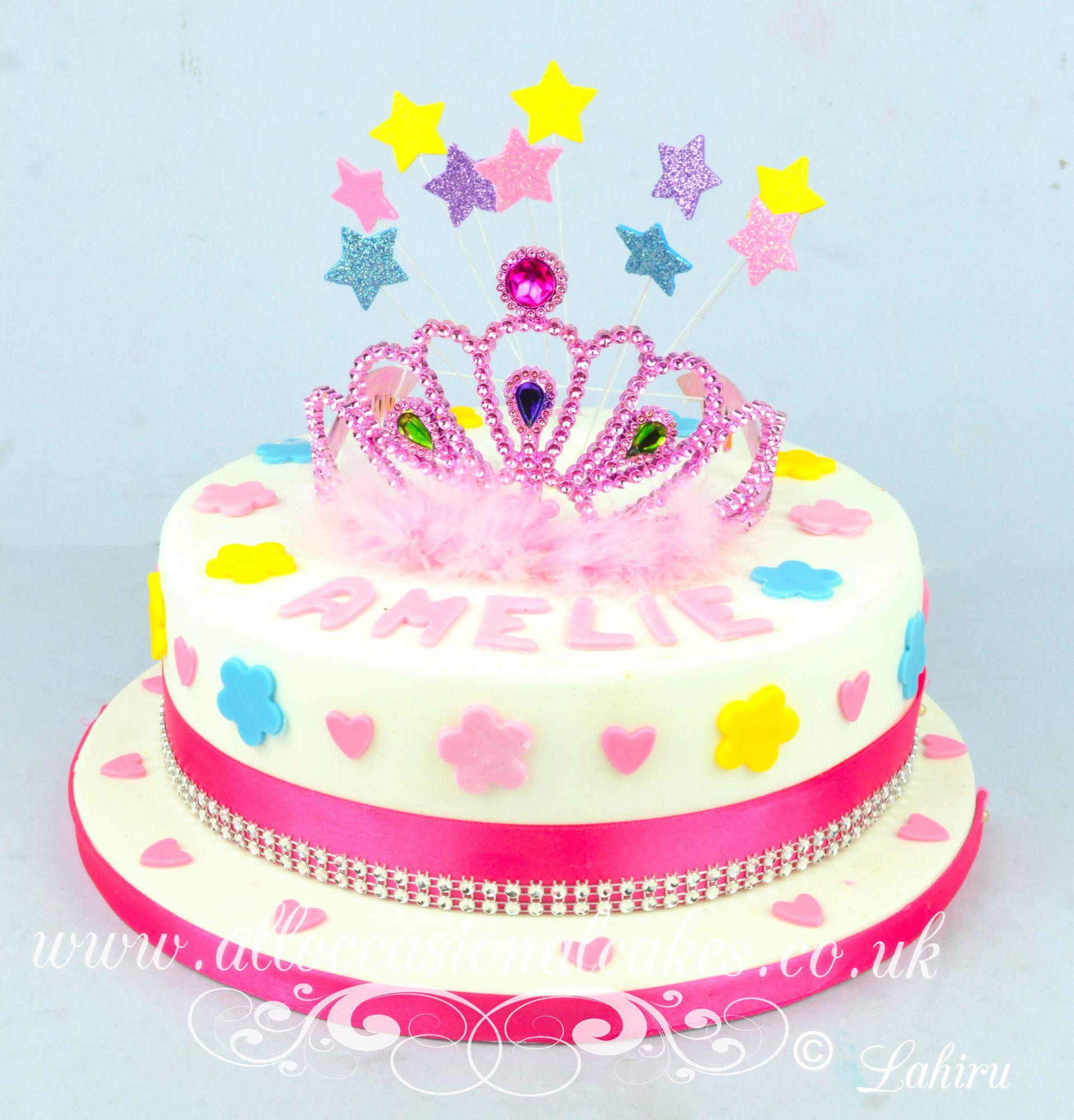 crown princess cake