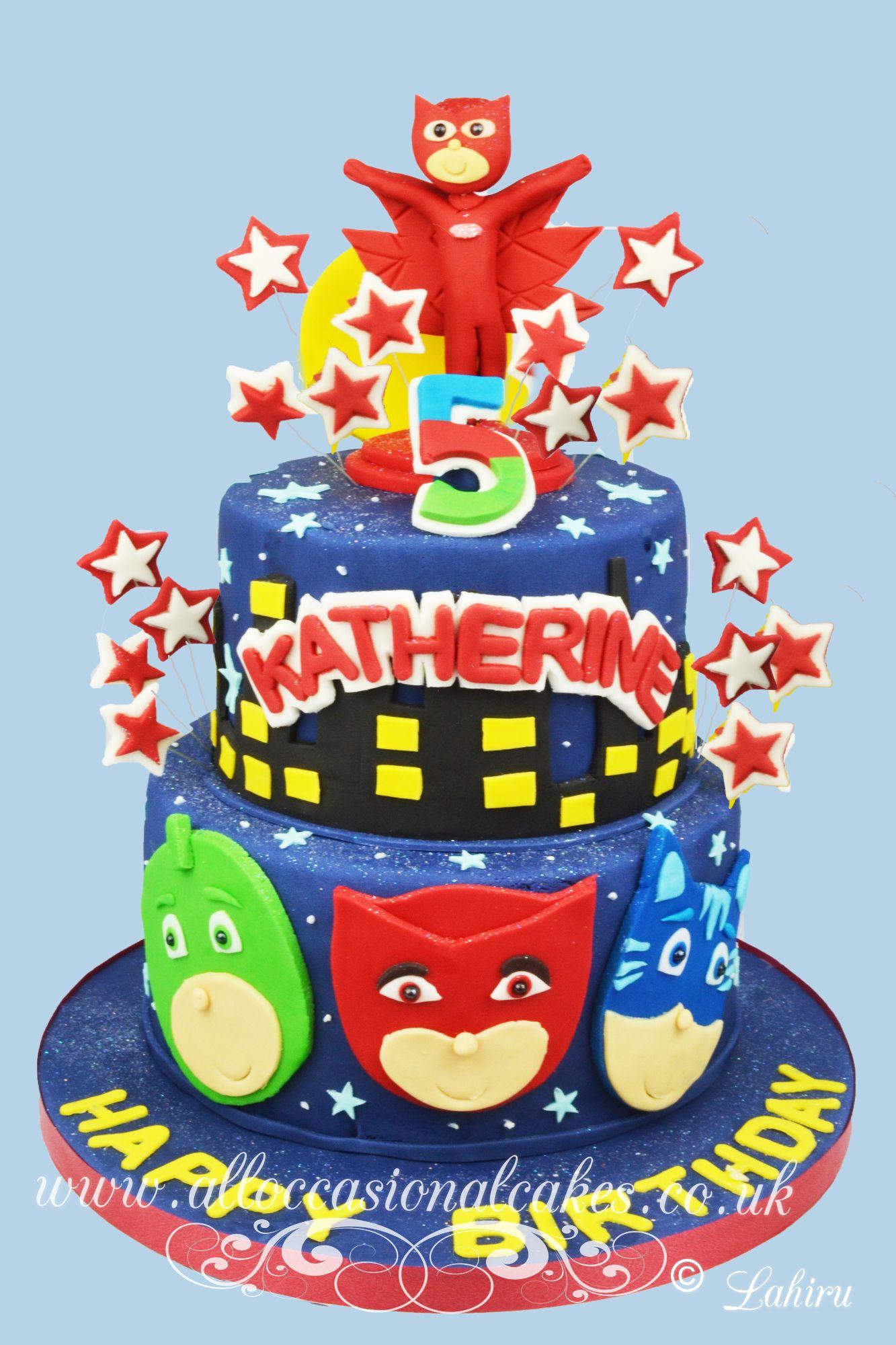 pj mars birthday cake