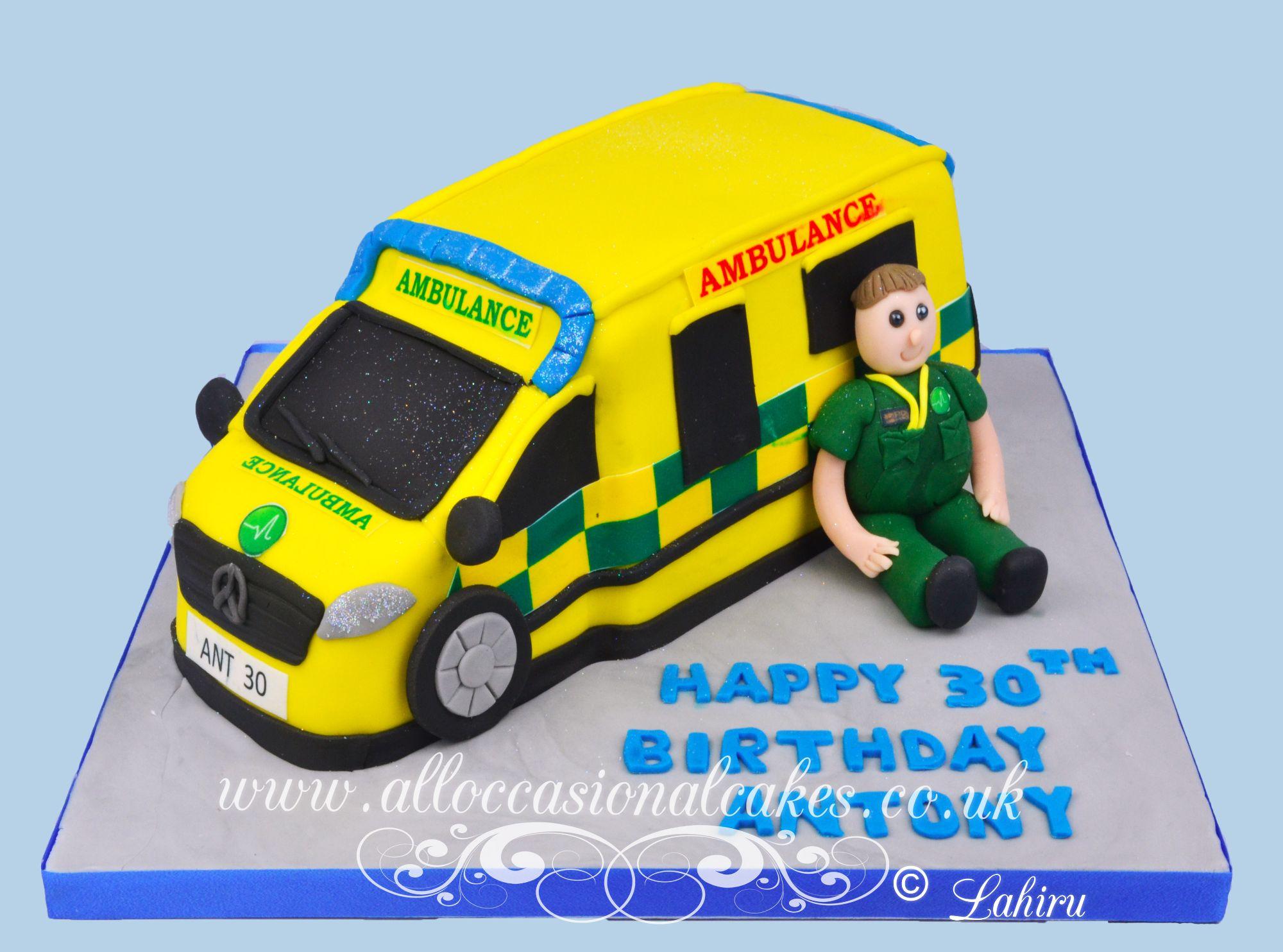 ambulance\ paramedic cake