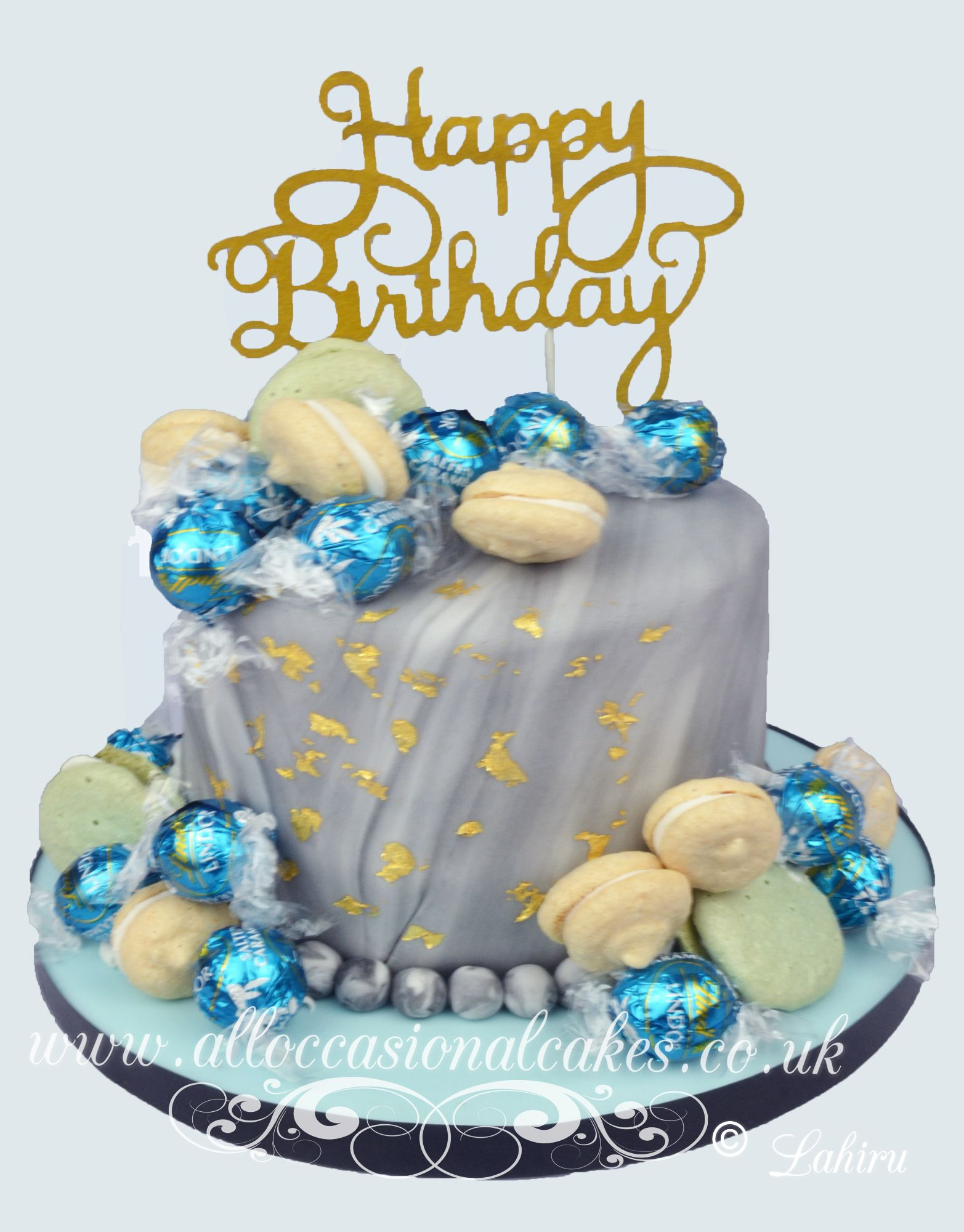 macaroons and gold leaf birthday cake   flowers 1   flowers 1   gold leaf wedding cake