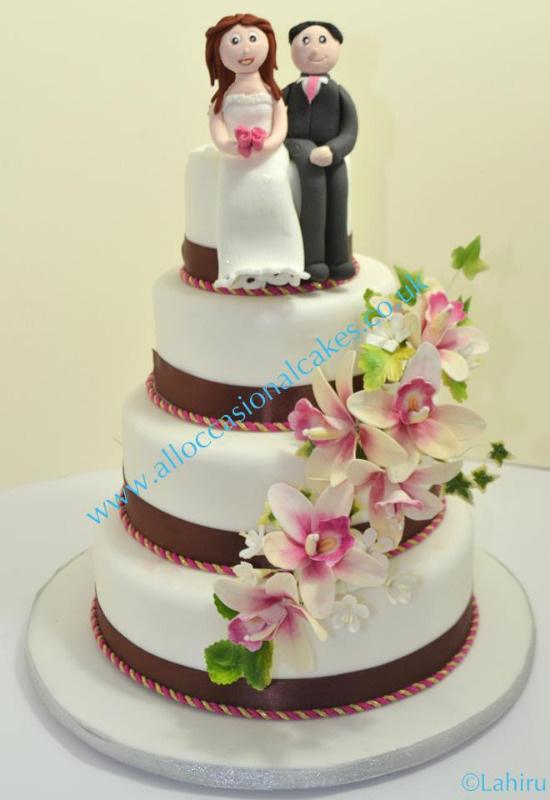 Cake Decorations Wedding Uk : Bristol wedding cake , eggless cake , wedding cake bristol