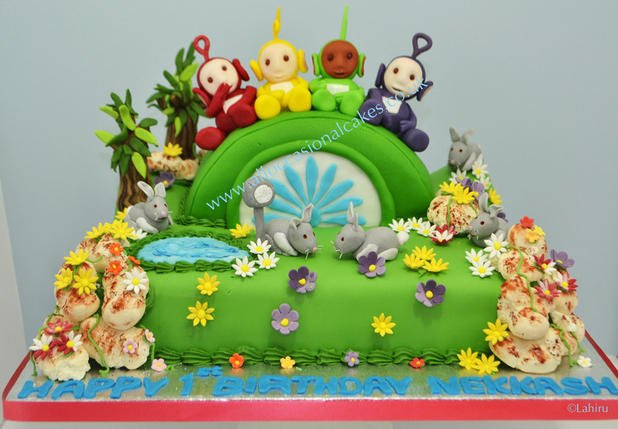 teletubbies birthday cake, kids Birthday Cake gallery, teletubbies birthday cake,