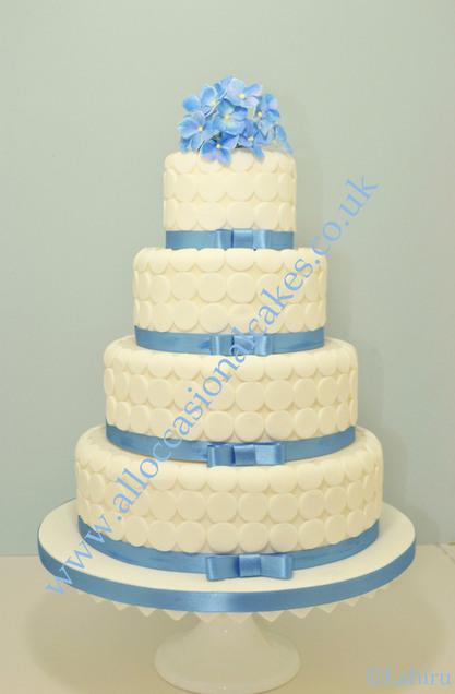 Sky Blue Cake Images : Bristol wedding cakes, Bath wedding cakes, Yate wedding ...
