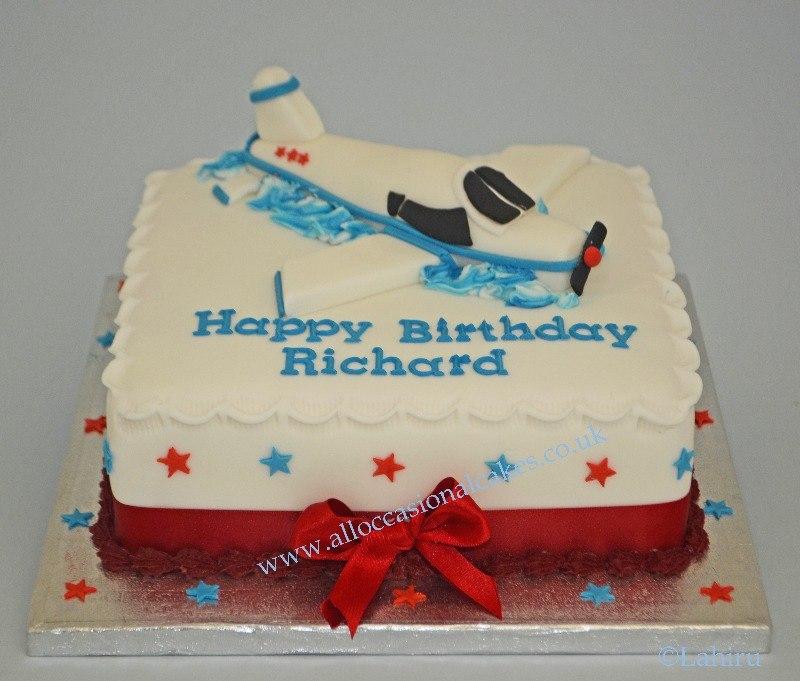 Aeroplane Birthday Cakes