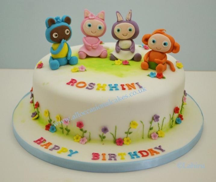 waybuloo birthday cake