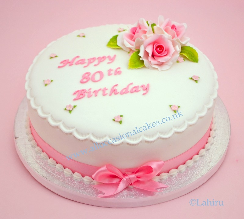 happy 80th birthday cake