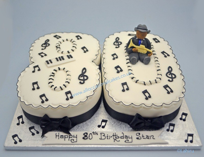 music themed birthday cakes for adults