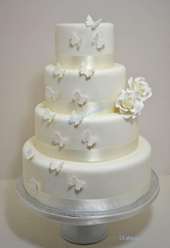 Affordable Wedding Cakes London Uk