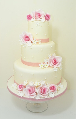 bath wedding cakes