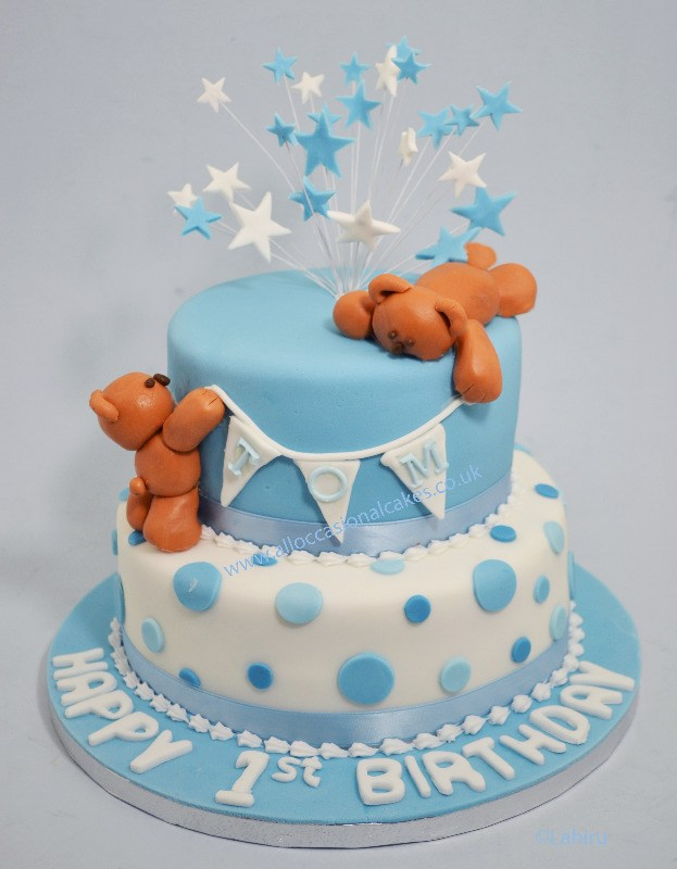 Cake Designs For 1 Year Boy : Birthday cakes - bristol cake makers, Boys birthday cakes ...