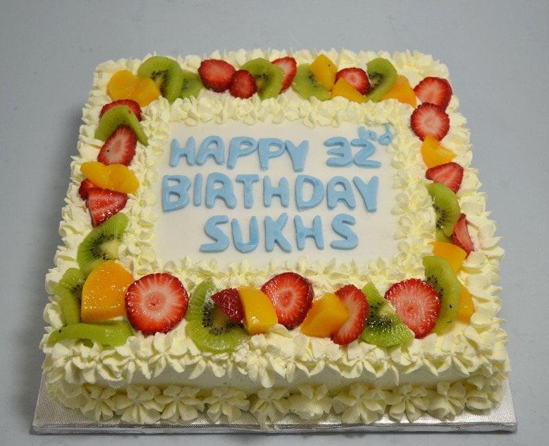 Butter Fruits Cake